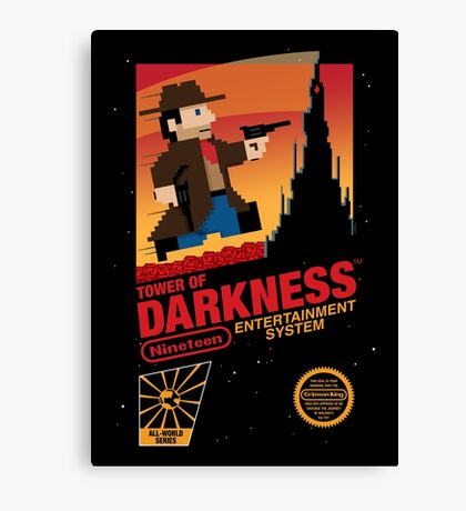 Tower of Darkness Canvas Print