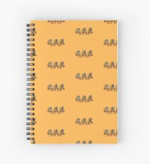 Foxxel, the Hungry monster Spiral Notebook