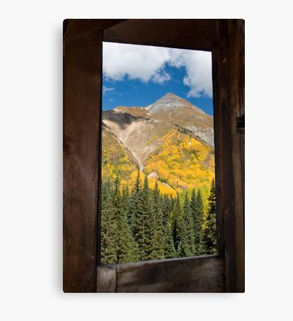 View from the mine Canvas Print