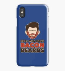 Bacon Beard (men's version) iPhone Case/Skin