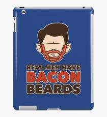 Bacon Beard (men's version) iPad Case/Skin