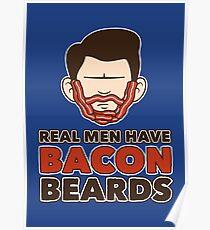 Bacon Beard (men's version) Poster