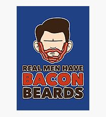 Bacon Beard (men's version) Photographic Print