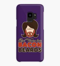 Bacon Beard (women's version) Case/Skin for Samsung Galaxy