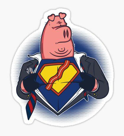 Super Bacon Sticker
