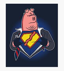Super Bacon Photographic Print