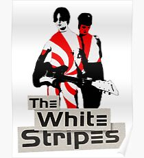The White Stripes - Pepermint Tape Poster