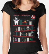 Donkey Puft Women's Fitted Scoop T-Shirt