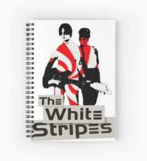 The White Stripes - Pepermint Tape Spiral Notebook