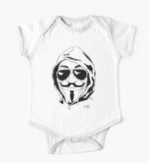 Vendetta Shades Logo One Piece - Short Sleeve