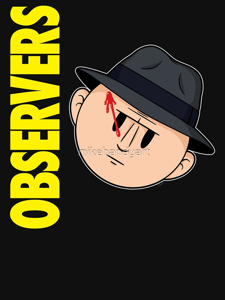 Who Observes the Observers? by mikehandyart