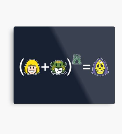 He-Math Metal Print