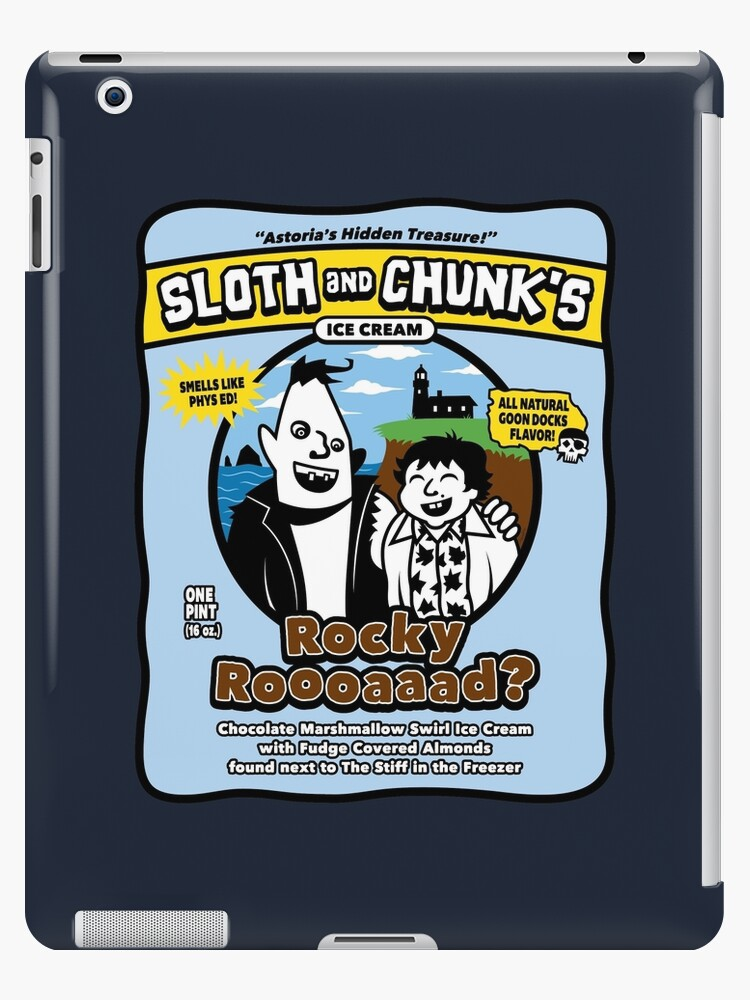 Sloth and Chunk's Ice Cream by mikehandyart
