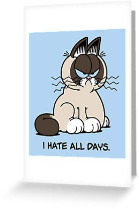 Always Grumpy by mikehandyart