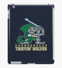 Thunderclap Thievin' Wolves iPad Case/Skin