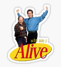 seinfeld im seriously depressed send xanax  Sticker
