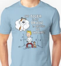 The Tiger in My Brain Unisex T-Shirt