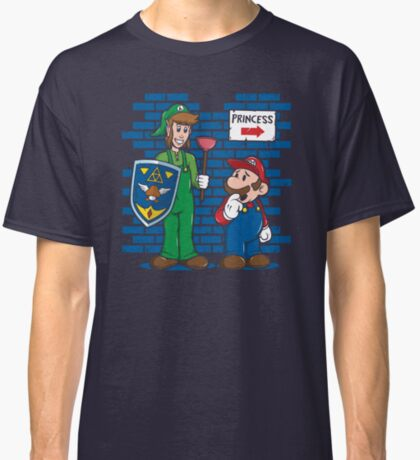 Your Princess is in Another Castle Classic T-Shirt
