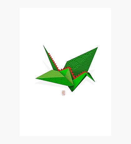 Origami CraneDragon Photographic Print