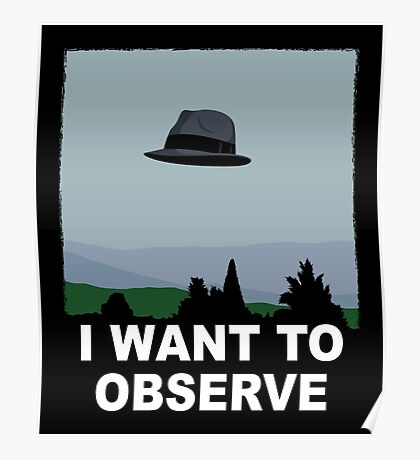 I Want to Observe Poster