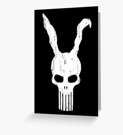The Bunnisher Greeting Card