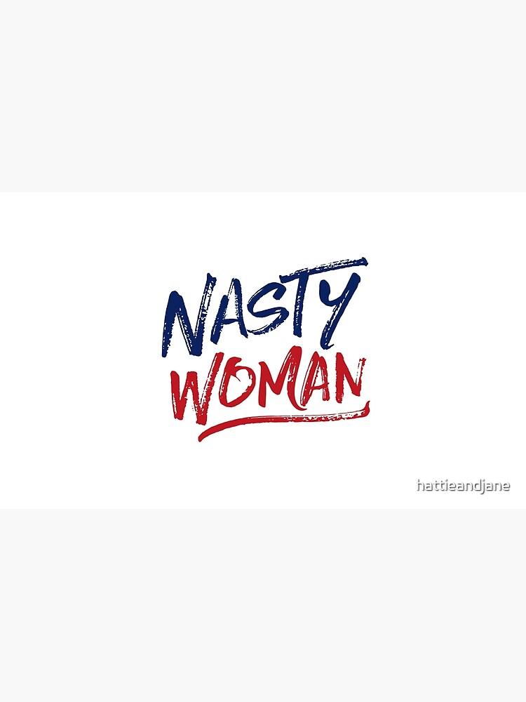 Mujer desagradable - Patriótico de hattieandjane