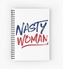 Nasty Woman - Patriotic Spiral Notebook