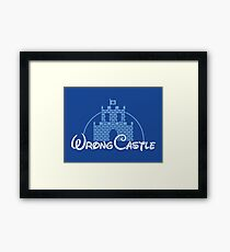 Wrong Castle Framed Print