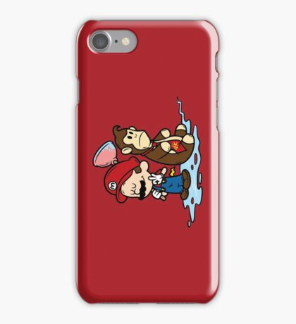 Mario and Kong iPhone Case/Skin