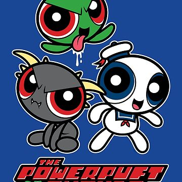 The Powerpuft Ghouls by mikehandyart