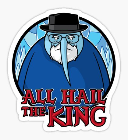 The King of Ice Sticker