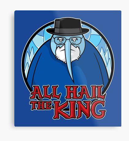 The King of Ice Metal Print