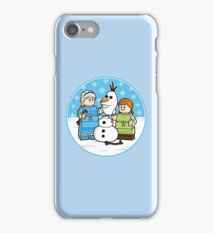 Want to Build a Snowman? iPhone Case/Skin
