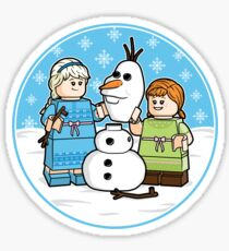Want to Build a Snowman? Sticker