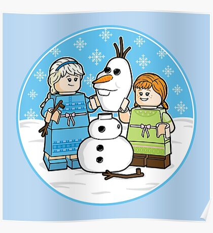 Want to Build a Snowman? Poster
