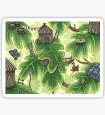 Little Leaf Village Sticker