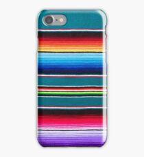 Teal Serape iPhone Case/Skin
