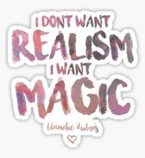 I Want Magic  Sticker