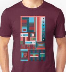 Razz Grid Unisex T-Shirt