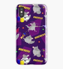 NinChilla Nunchucks in Grape iPhone Case/Skin
