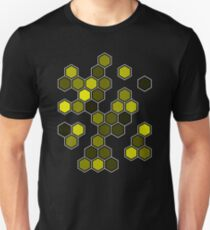 Yellow Honeycomb Unisex T-Shirt
