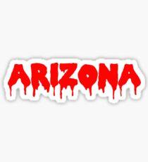 Arizona drippy  Sticker