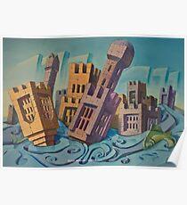 Floating Castles Poster