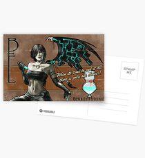 Black Fairy Lethal Postcards
