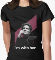 Janeway Cranberry Women's Fitted T-Shirt