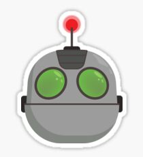 Clank from Ratchet and Clank (head) Sticker
