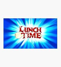 Lunch Time Photographic Print