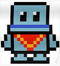 Pixel Poncho Poster