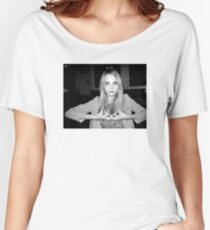 """Cara Delevingne """"Blood"""" Women's Relaxed Fit T-Shirt"""