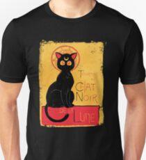 Chat Noir de la Lune - v.2.0 Slim Fit T-Shirt